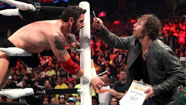 Ambrose taunts BNB.