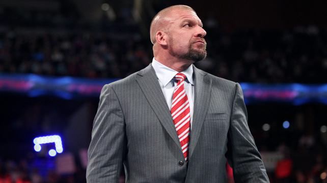 Triple H, COO of the WWE.