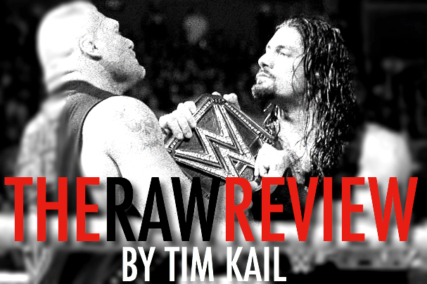 THE RAW REVIEW for EPISODE MARCH 23, 2015 photo via WWE.com.