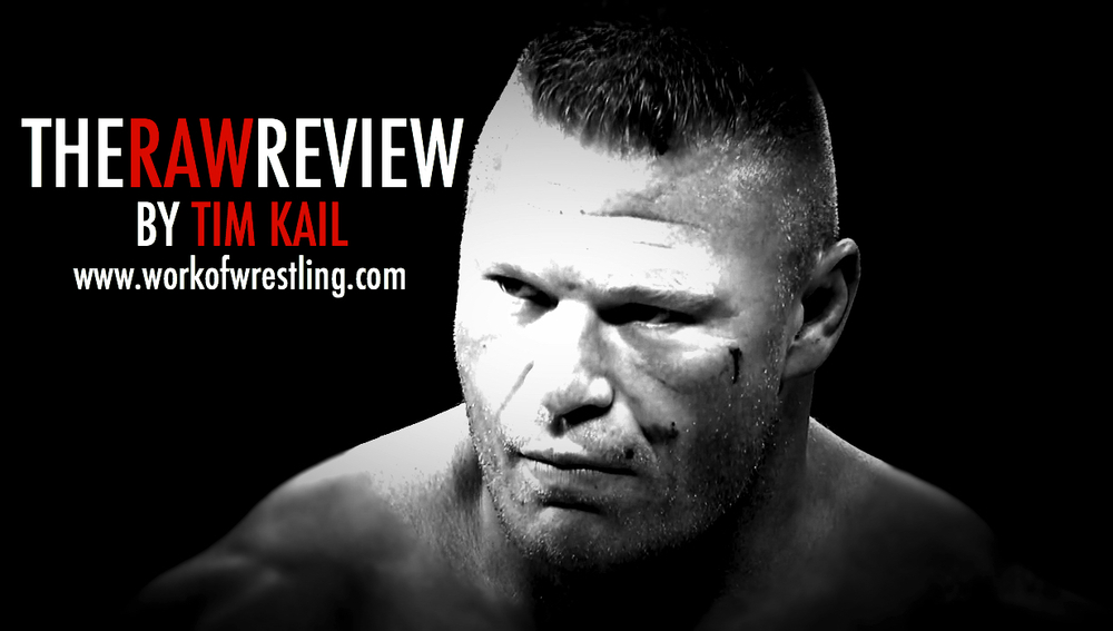 THE RAW REVIEW FOR EPISODE MARCH 30TH, 2015. ORIGINAL PHOTO SCREEN-CAPTURED FROM MONDAY NIGHT RAW by WWE.