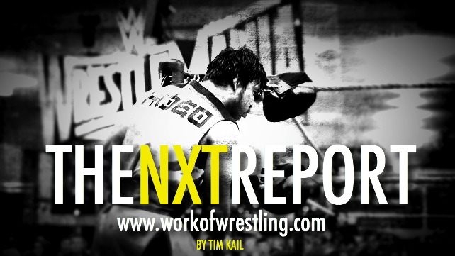 THE NXT REPORT FOR EPISODE 4/11/15 PHOTO VIA WWE.