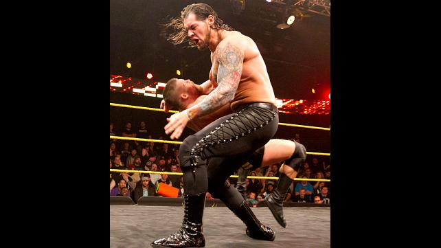 """Baron Corbin makes quick work of another """"local competitor""""."""