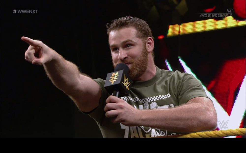 Sami Zayn challenges Kevin Owens for the NXT Championship.