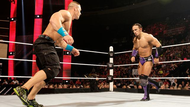 John Cena vs Adrian Neville for the United States Championship.