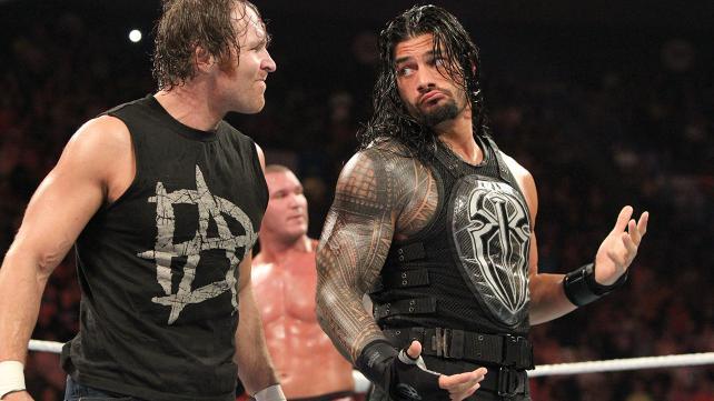 Dean Ambrose & Roman Reigns.