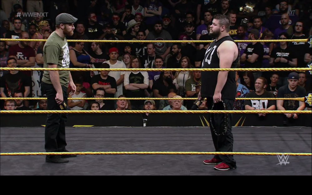 Sami Zayn (left) and Kevin Owens (right).