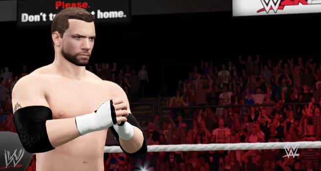 MAXIMUS IN 2KGAMES WWE2K15.