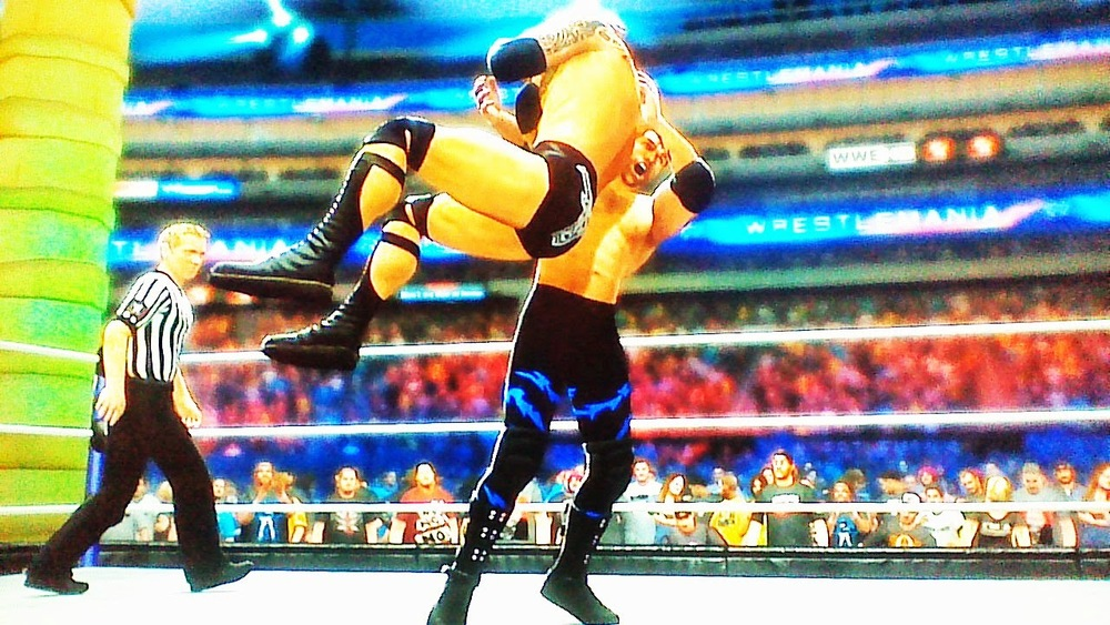 MAXIMUS DELIVERS THE ROCK BOTTOM AT WRESTLEMANIA!