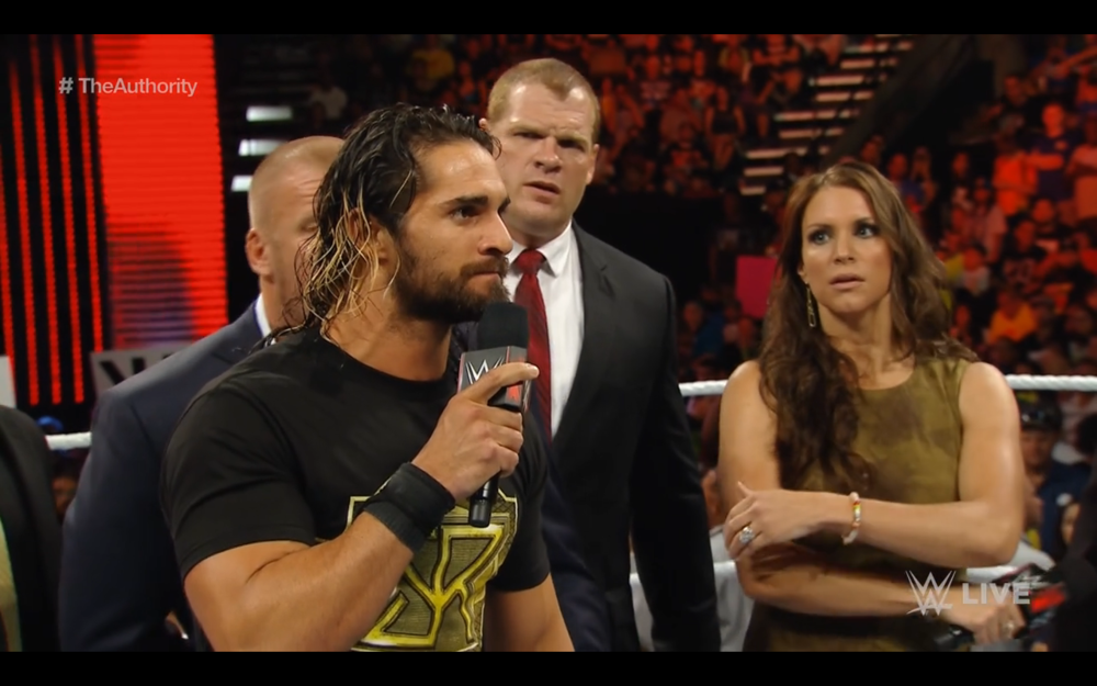 Seth Rollins accepts Dean Ambrose's challenge for Money in the Bank.