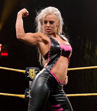 NXT's Dana Brooke.
