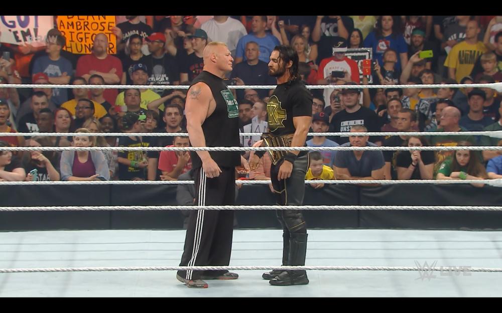 Brock Lesnar returns to Monday Night Raw