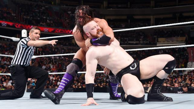 Adrian Neville vs Sheamus on RAW. Why did they wrestle?