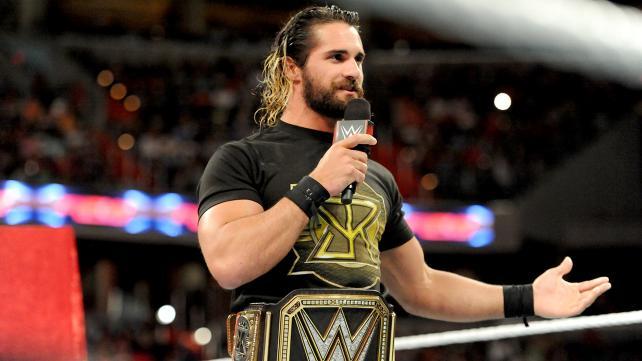 WWE World Heavyweight Champion, Seth Rollins.
