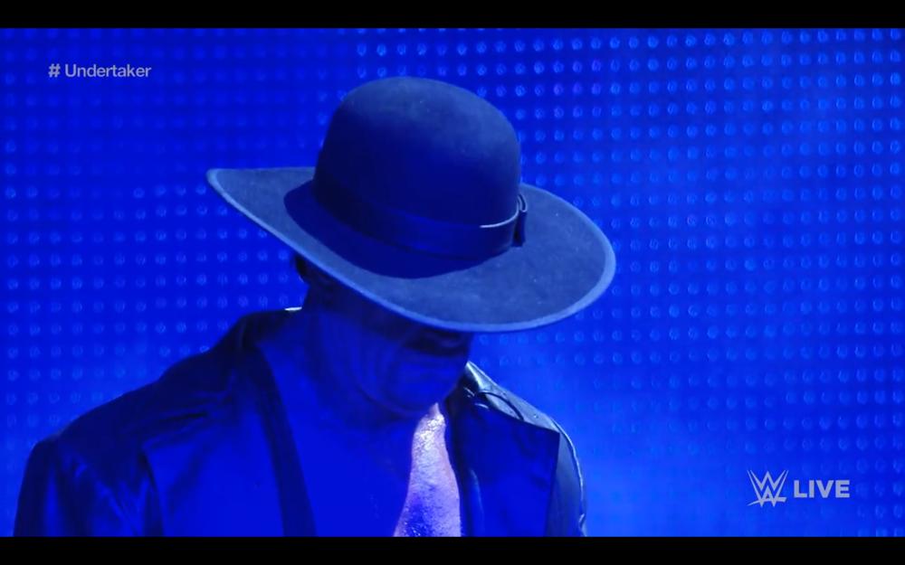 The Undertaker resurrected.