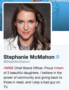 It's impossible not to respect and admire Stephanie McMahon.