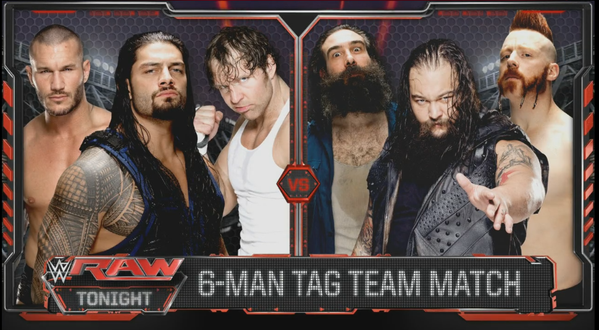 Another 6-Man tag main event.