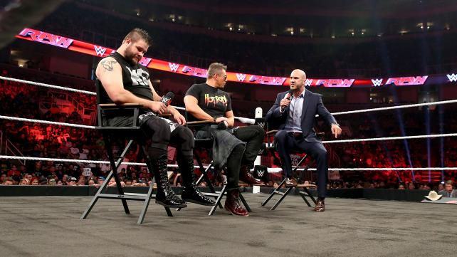 Miz TV has Kevin Owens and Cesaro on this week. It was a good segment.