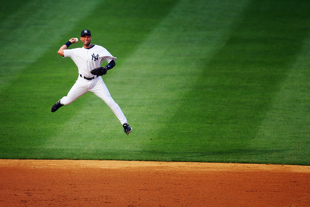 Derek Jeter's grace of motion exemplified the beauty of baseball.