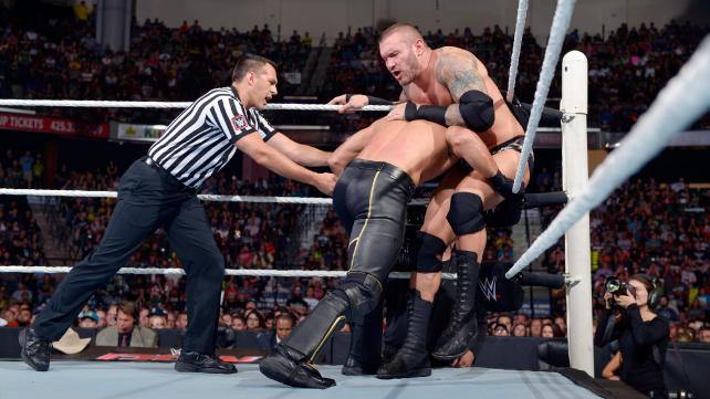Randy Orton vs Seth Rollins in the RAW main event.