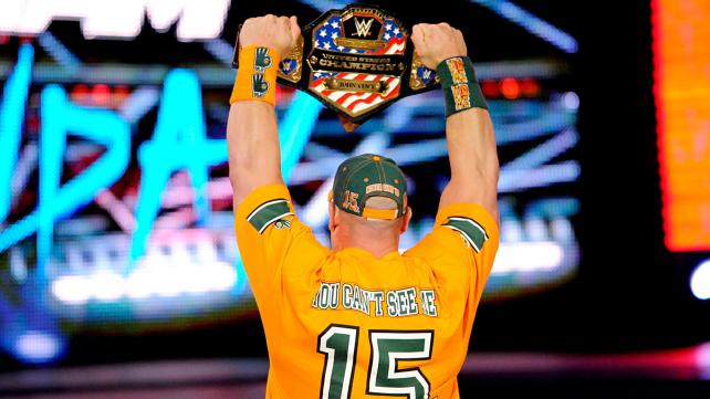 John Cena, United States Champion.