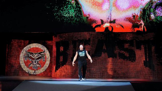 Brock Lesnar, Mayor of Suplex City.