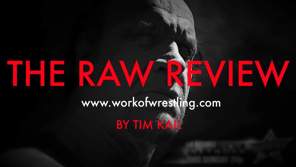 THE RAW REVIEW FOR EPISODE 8/17/15 PHOTOS VIA  WWE.COM