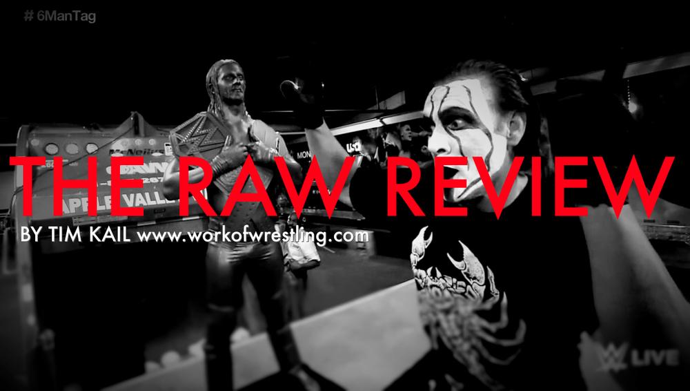 RAW REVIEW FOR 9/7/15 PHOTOS VIA  WWE