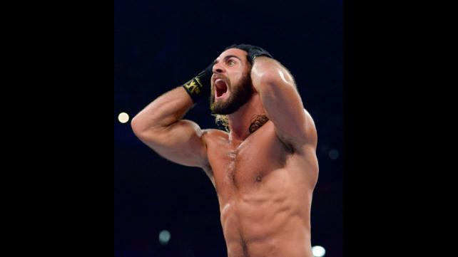 Seth Rollins distraught about his statue.