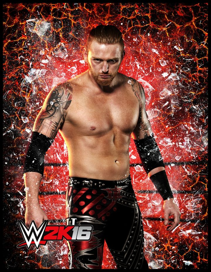 Heath Slater in WWE2K16.