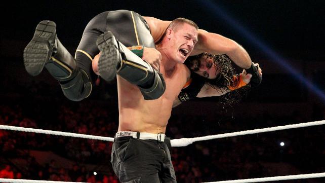 John Cena vs Seth Rollins for the United States Championship