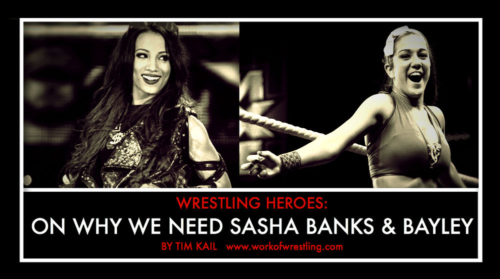 EDITORIAL ON THE IMPORTANCE OF SASHA BANKS & BAYLEY photos via  WWE