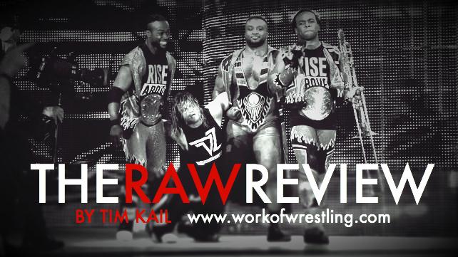 THE RAW REVIEW FOR EPISODE 10/5/15 PHOTOS VIA WWE.COM
