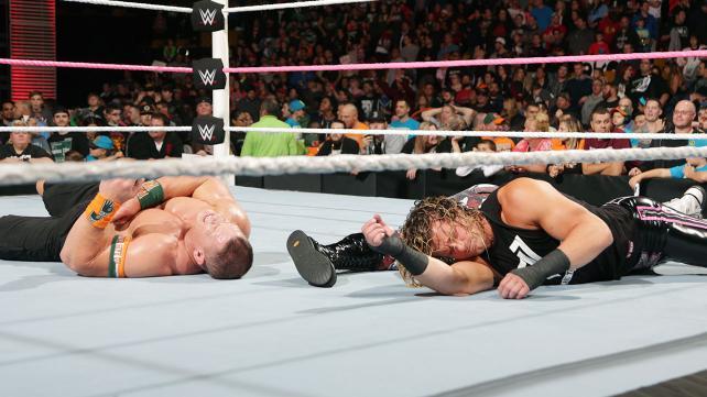 John Cena, The Dudleyz, and Dolph Ziggler defeated.
