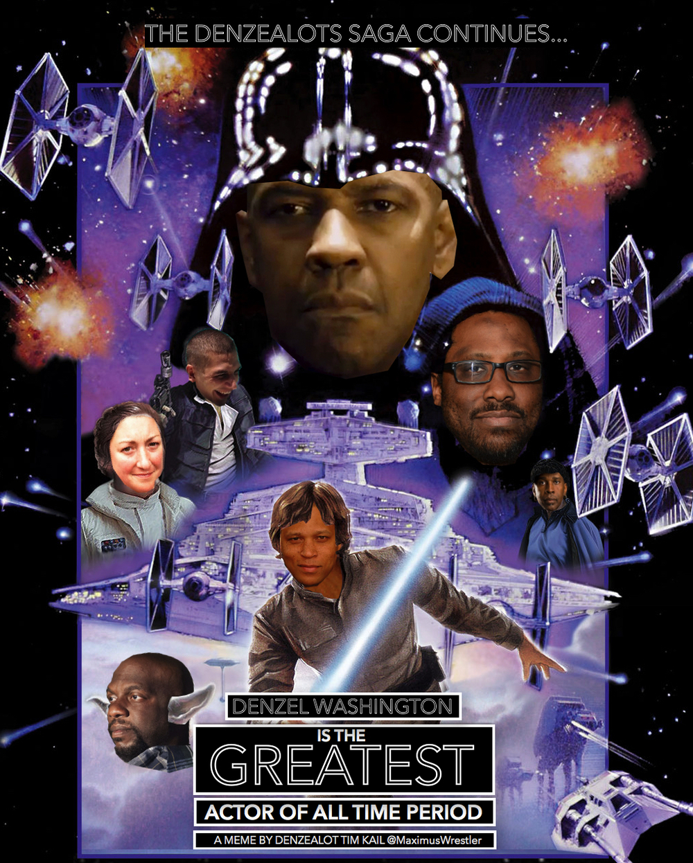 One of the memes I've made in honor of the show, inspired primarily by Kevin's love of Star Wars.