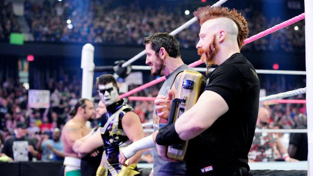 Sheamus holds The Money in the Bank briefcase and yet lacks any momentum.