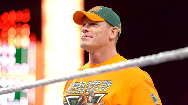 John Cena - the implacable man of the PG-Era.