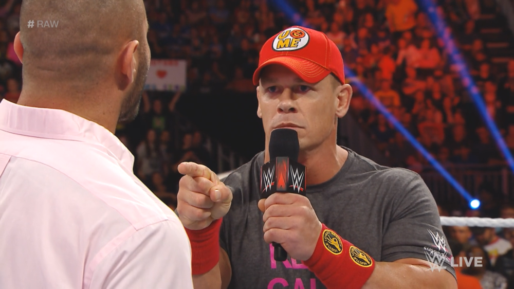 John Cena cut a superb promo on this RAW, managing to tell one last good story with Orton.