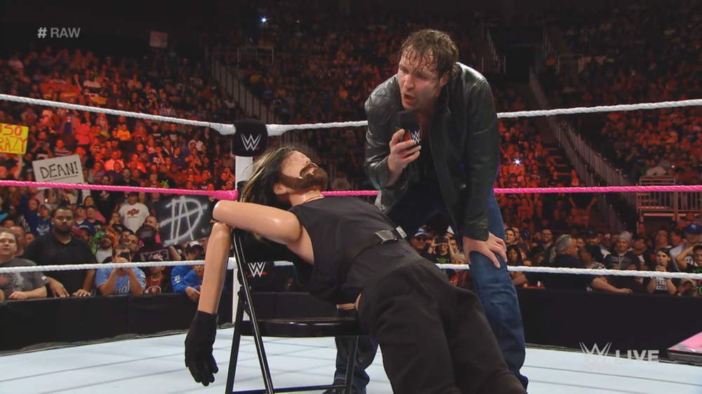 The Ambrose/Rollins rivalry was so good in 2014 that it was a natural fit for the Mania main event.