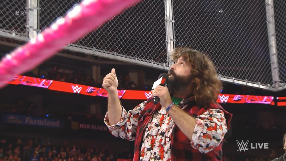 Monday Night Raw October 20th, 2014.