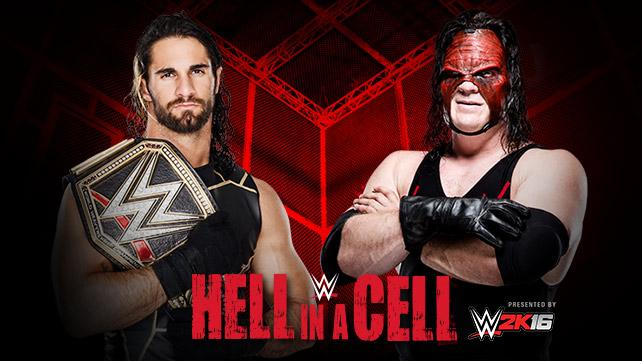 Seth Rollins will face Kane for the WWE World Heavyweight Championship.