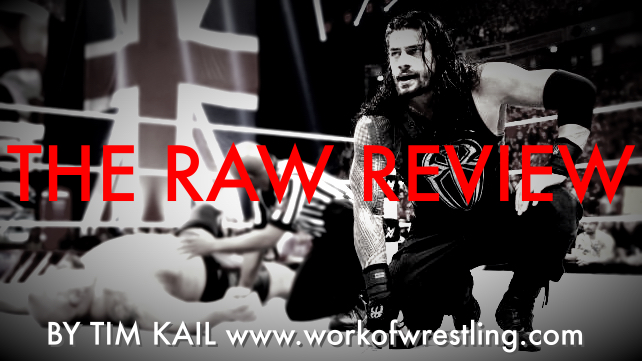 THE RAW REVIEW FOR EPISODE 11/9/15 PHOTOS VIA WWE