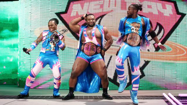 THE NEW DAY WAS PARTICULARLY ENJOYABLE THIS WEEK...