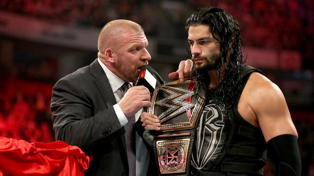 THE OPENING SEGMENT BETWEEN TRIPLE H AND ROMAN REIGNS WAS EXCELLENT BUT THE REST OF THE SHOW LACKED A SENSE OF URGENCY.