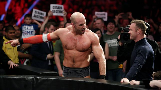 CESARO STRUGGLED TO MAINTAIN THE SENSE THAT HE'D INJURED HIS ARM.
