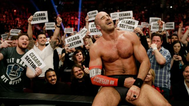 IF VINCE MCMAHON LISTENS...WHY IS CESARO SO CLEARLY NOT BEING CONSIDERED FOR A TOP SPOT?