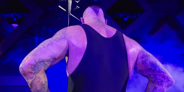 THE UNDERTAKER LEAVES THE ARENA VIA www.whatculture.com