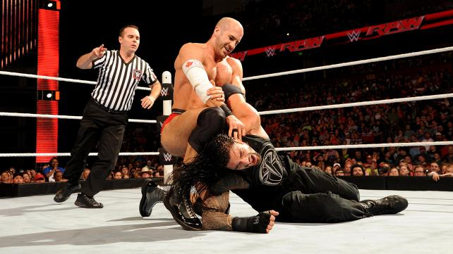 Cesaro and Roman Reigns steal the show.