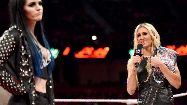 Charlotte breaks down mid-promo.
