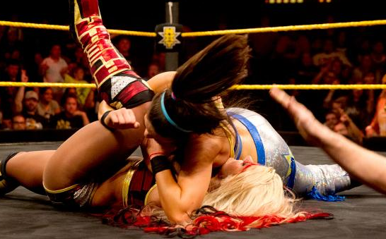 BAYLEY DEFEATS ALEXA BLISS.