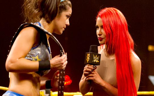 EVA MARIE RECEIVED MORE ATTENTION THAN THE MAIN EVENT THAT PRECEDED HER.